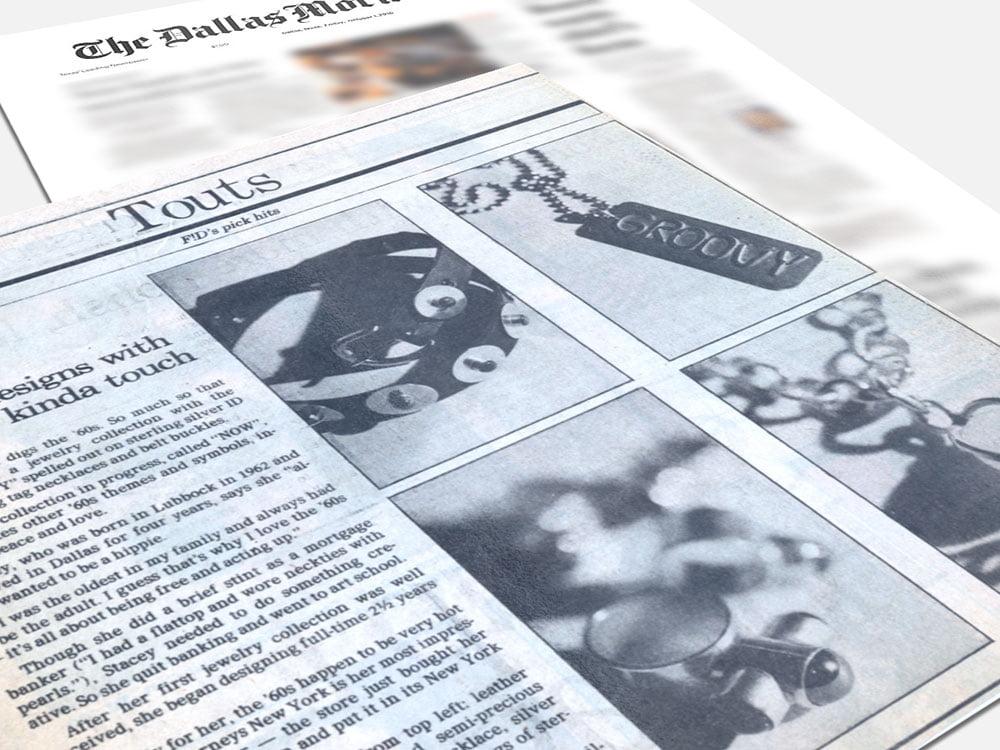 Dallas Morning News November 1990