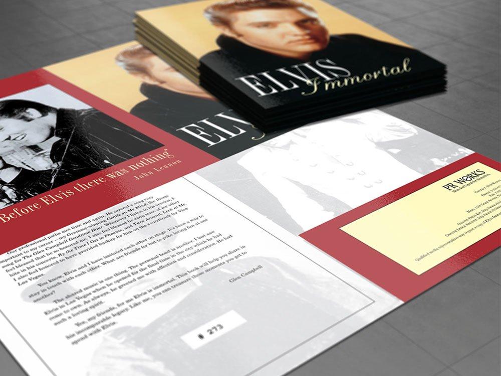 Presentation Folder Interior
