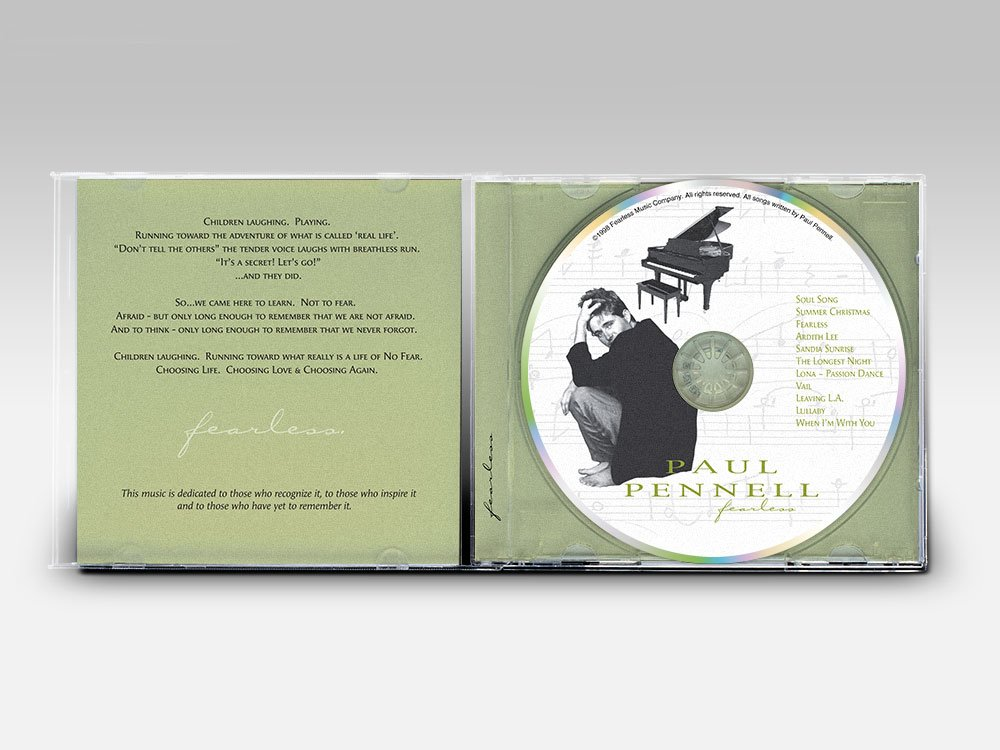 Paul Pennell Fearless Album Interior