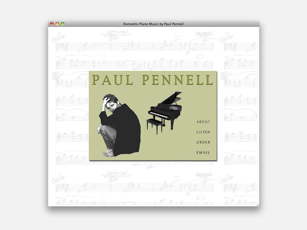 Paul Pennell Home Page