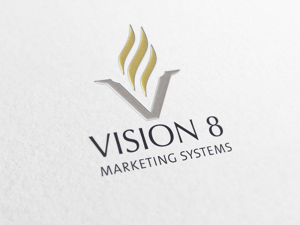 Vision 8 Logo