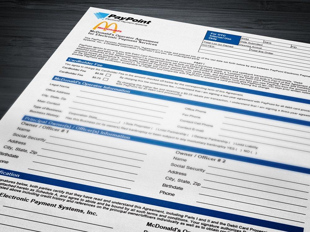 Debit Program Application