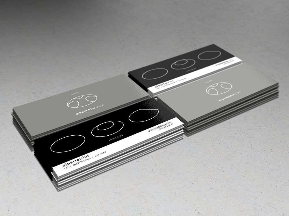 Alberto Frias Business Cards