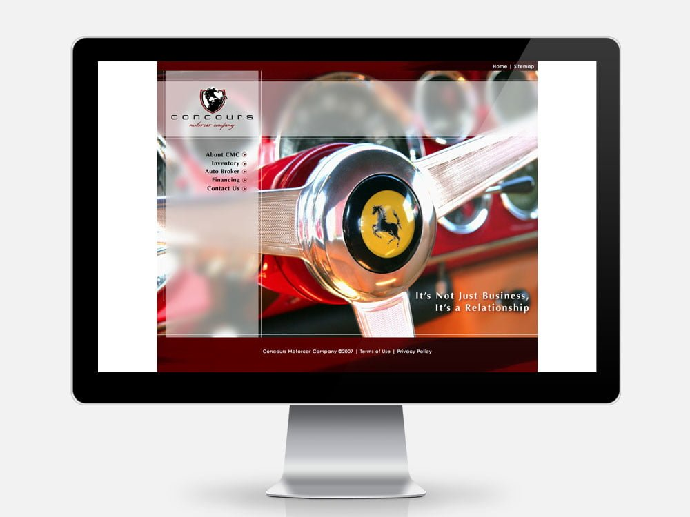 Concours Motorcar Company Home Page