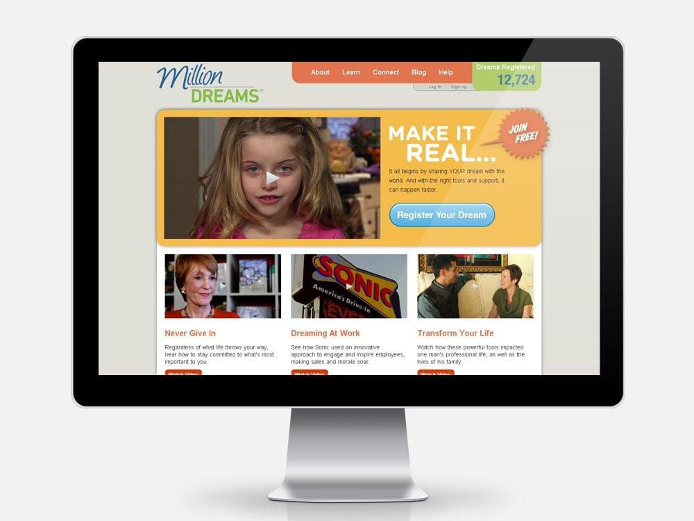 Million Dreams Campaign Home Page