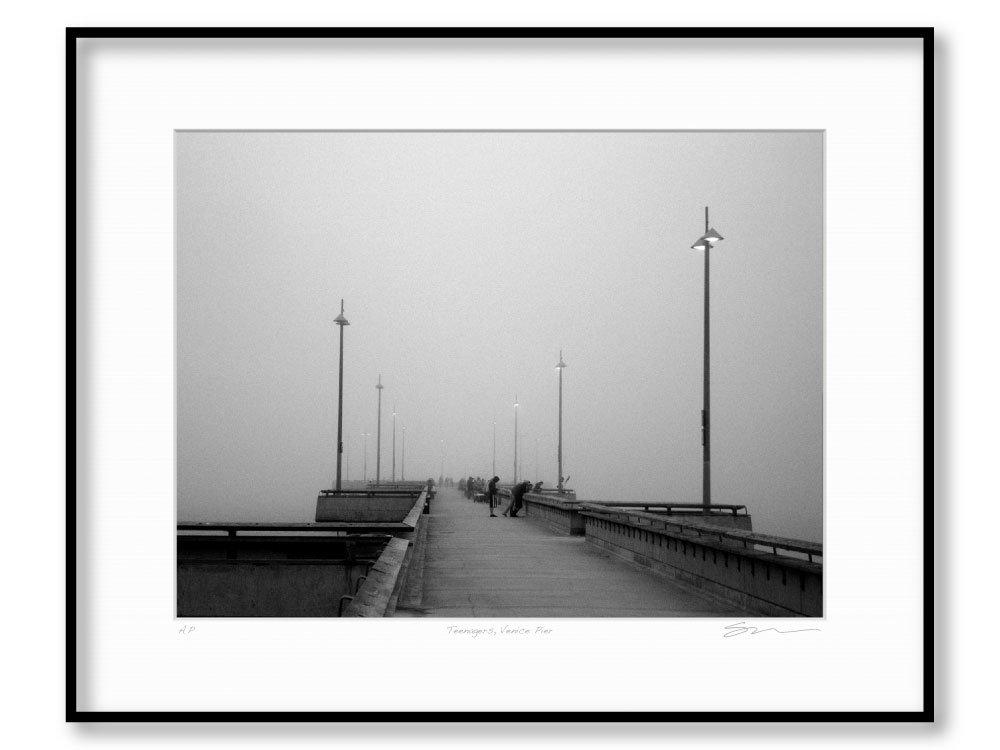 Teenagers, Venice Pier