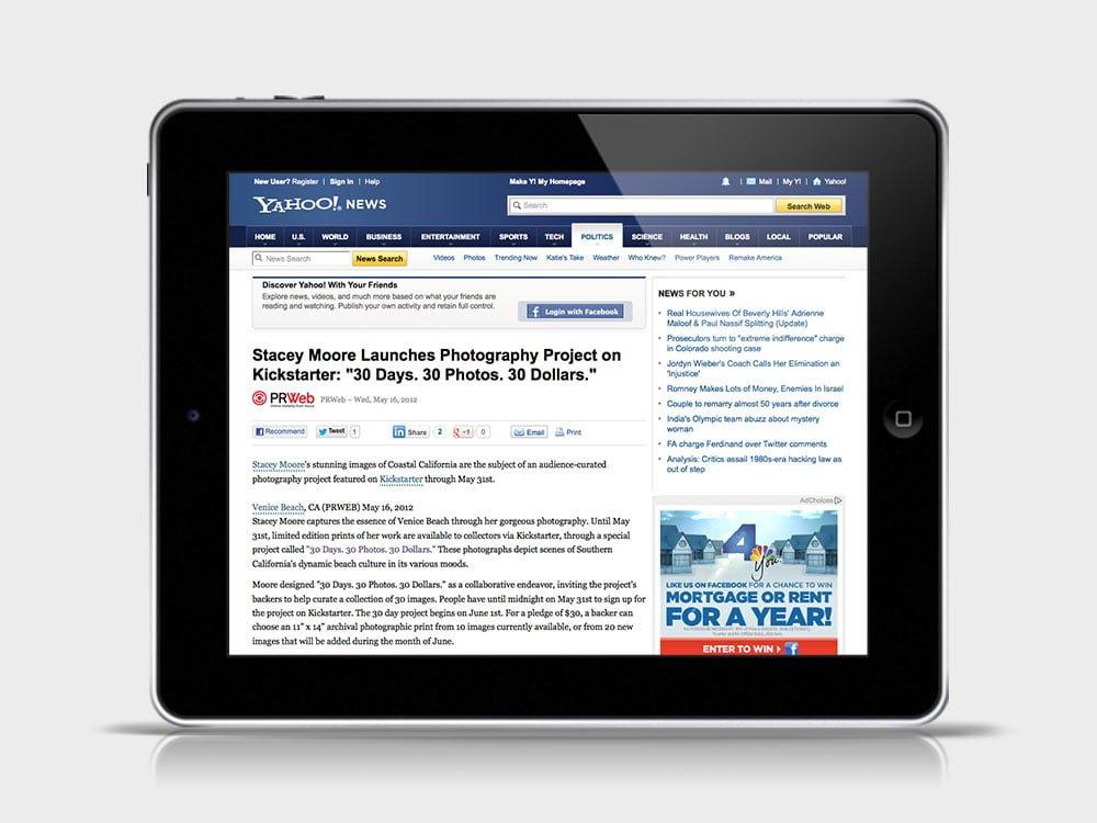 Yahoo! News Story