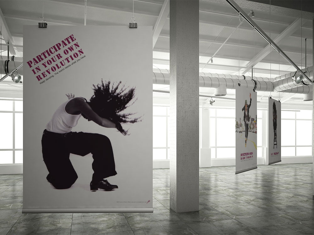 Laurie Johnson Dance Poster Series