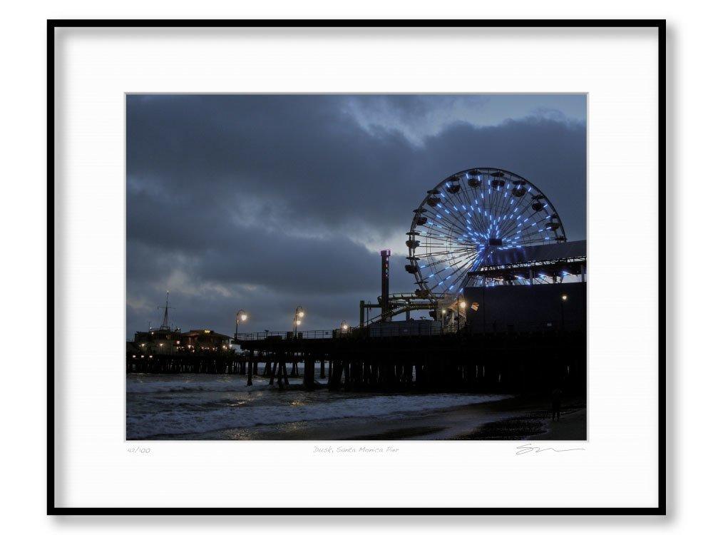 Dusk, Santa Monica Pier
