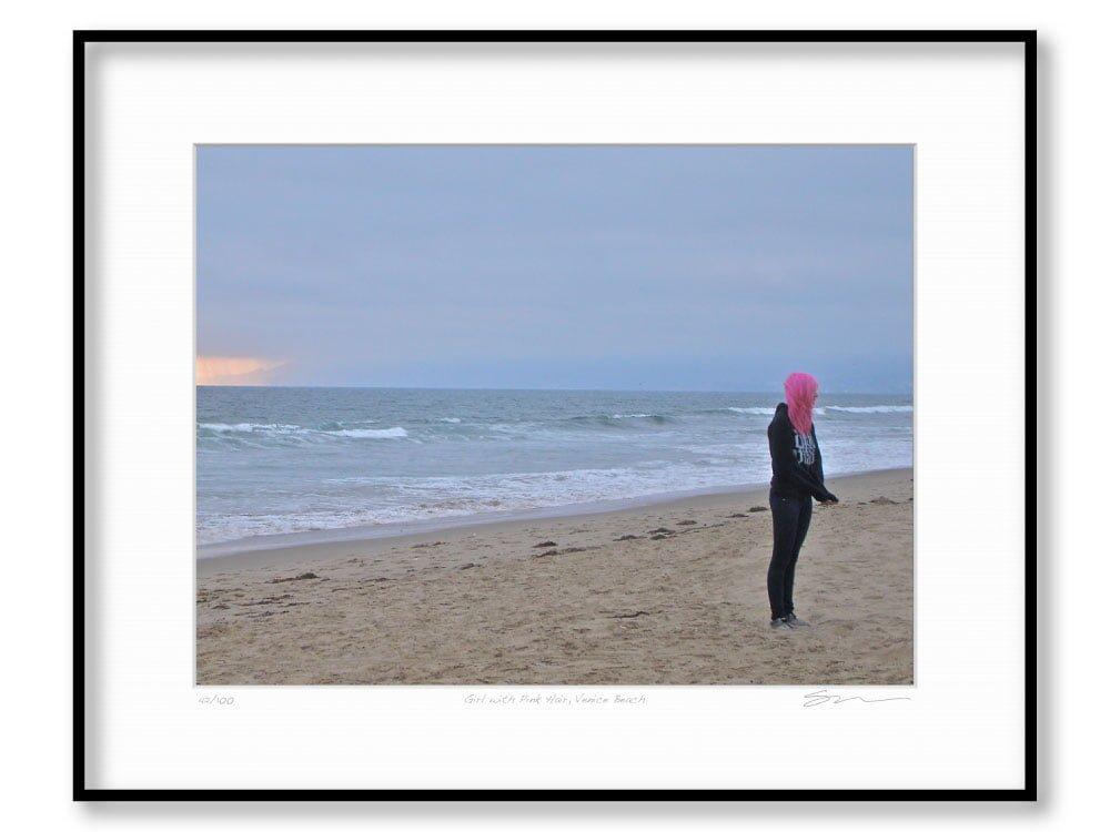 Girl with Pink Hair, Venice Beach