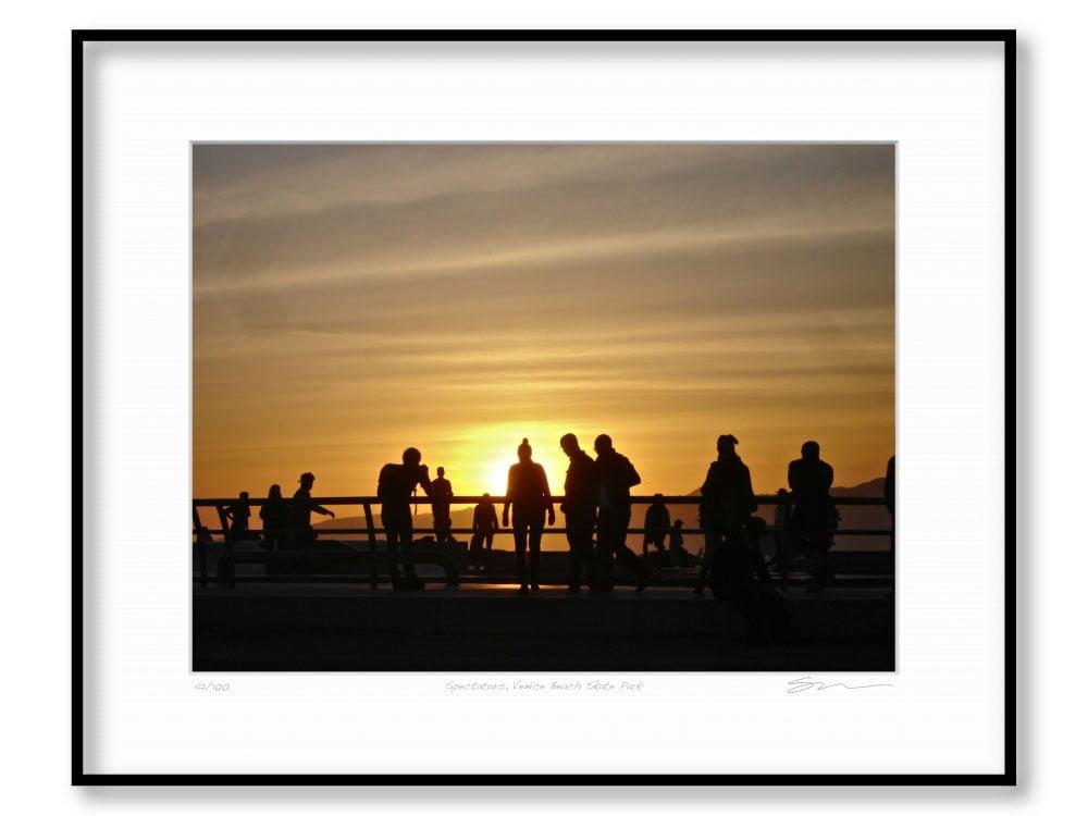 Spectators, Venice Beach Skate Park