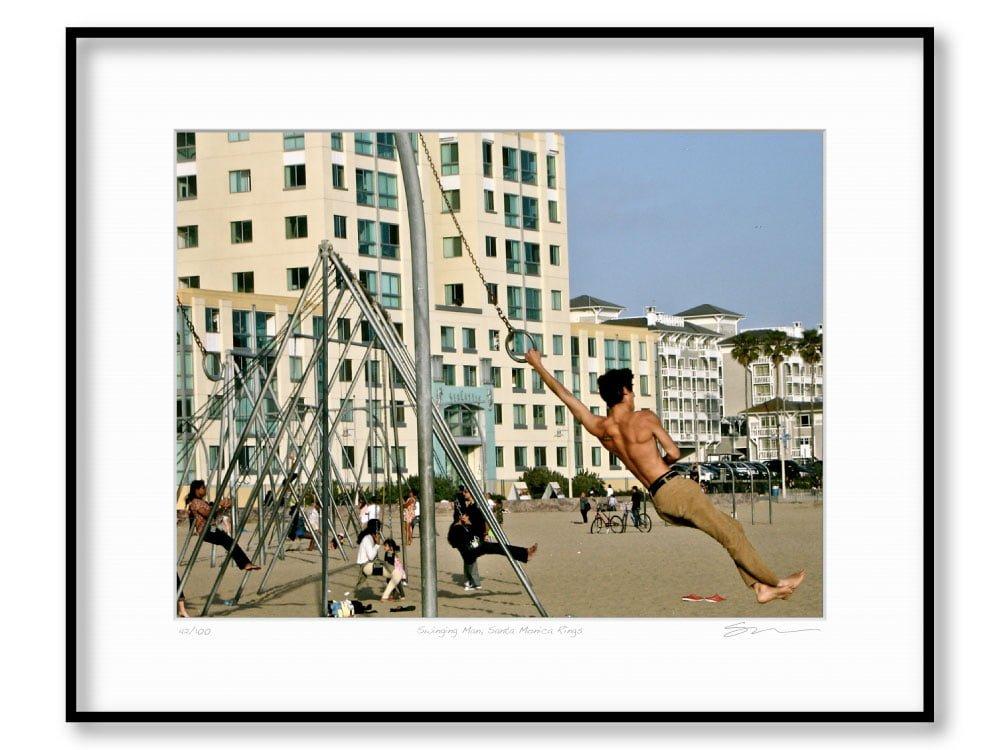 Swinging Man, Santa Monica Rings