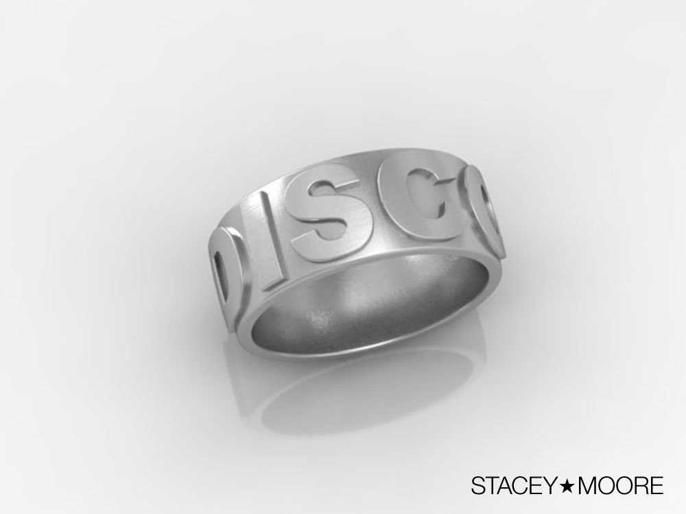 Stacey Moore Disco Ring