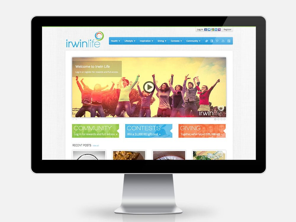 Irwin Life Home Page