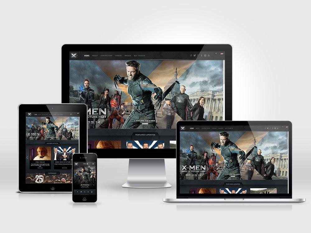Responsive Desktop and Mobile Versions