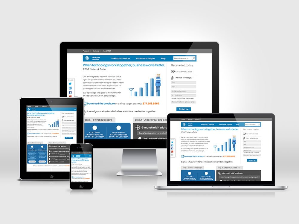 AT&T Network Suite Product Configurator